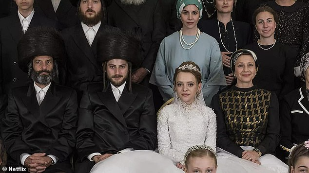 Ivi suggests the portrayal of Orthodox Judaism is a 'far cry' from what she has experienced while converting to the religion in order to marry her partner. Pictured: a scene from the Netflix series Unorthodox