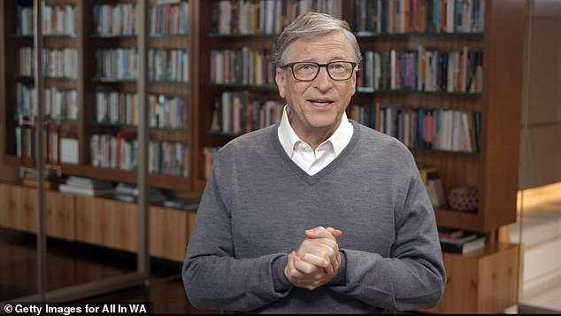 A team at Imperial College London and the UK Dementia Research Institute have been given a $1.5million (£1.14million) grant by US philanthropists, including Bill Gates (pictured), to trial the technology