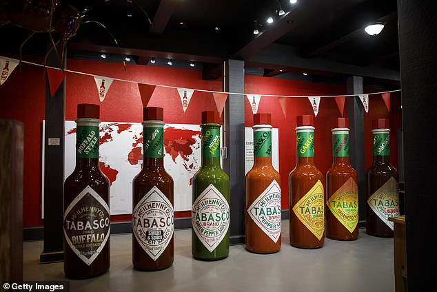 TheTabasco sauce factory is open to visitors, with the$5.50 tours including stops at the pepper greenhouse, barrel warehouse, salt mine, and the bottling plant