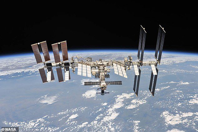 There have been ham radios aboard the Space Shuttle, Mir Space Station, and the International Space Station.  Any licensed operator can communicate with the ISS, which publishes its frequencies online