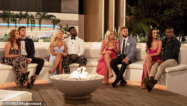 New Show: According to reports, The Cabins will see single competitors ditch the technology and instead be paired up in huts in the middle of the UK (Love Island winter series pictured)