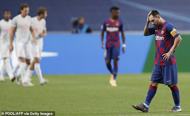 Messi got furious at Barcelona and informed them he wanted to leave this summer