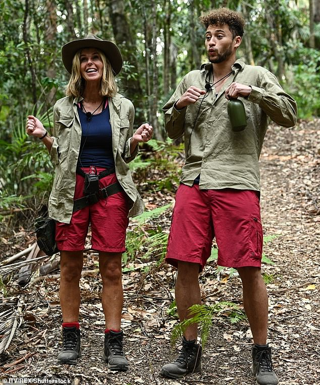 A jungle challenge for Kate and Myles Stephenson.In December, she spoke about how Derek 'had fallen in love with me all over again', after watching her cope brilliantly with the deprivations of the jungle in the latest series of I'm A Celebrity… Get Me Out Of Here!