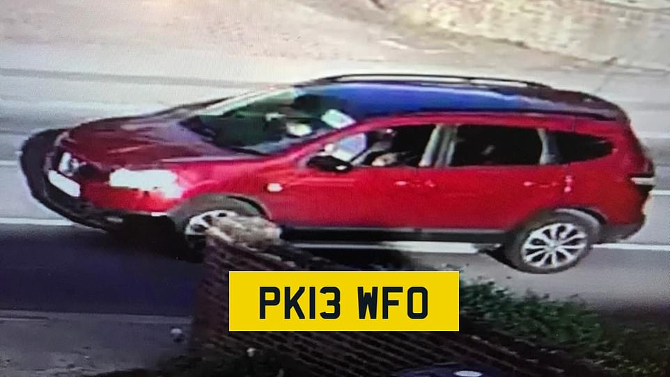 Detectives are now appealing for information regarding the movements of a Nissan Qashqai car throughout the afternoon of Thursday, 20 August in the Croydon area, in particular Coulsdon Road