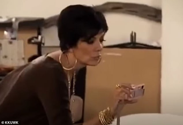 'Kim you're doing amazing sweetie': The phrase has reached icon status since Jenner first said it on an episode of Keeping Up With The Kardashians in 2007