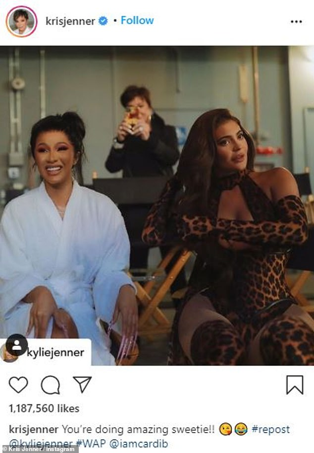 Callback:The catchphrase has been memed for over a decade and most recently made its return when Kylie joined Cardi B and Megan Thee Stallion on set for their now iconic WAP video