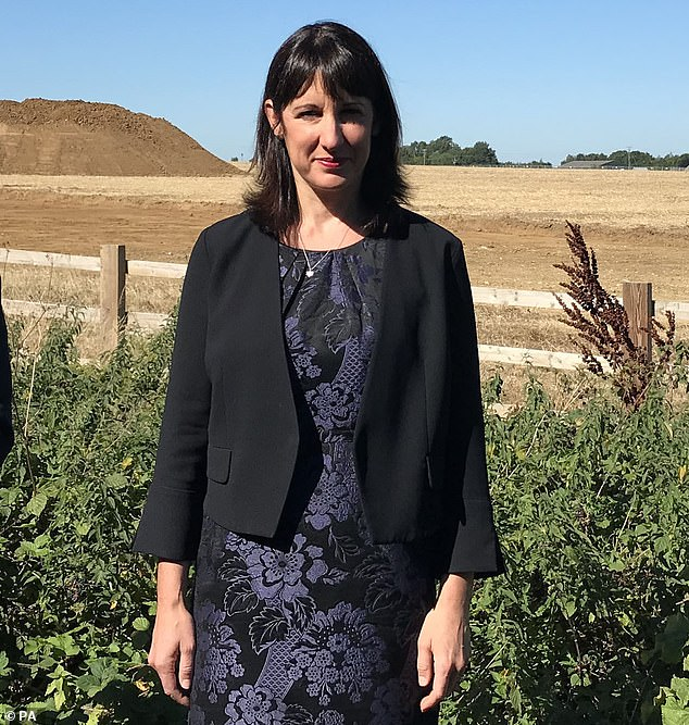 Leeds West MP Rachel Reeves (pictured) said the facility was now closed and would be inspected by Infection Control and Environmental Health after a thorough cleaning