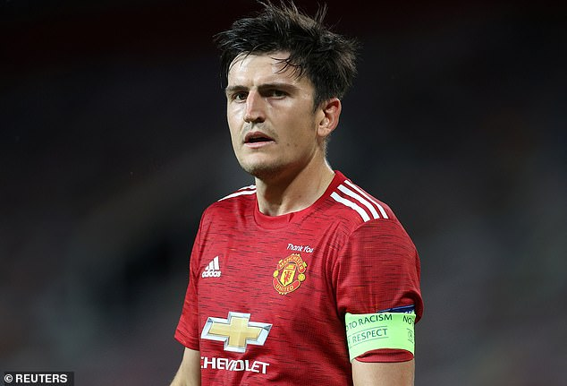 Manchester United captain Maguire said his future as skipper is 'not his decision to make'