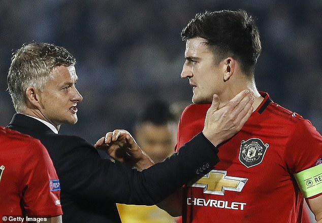 United manager Ole Gunnar Solskjaer has praised the character of his captain Maguire