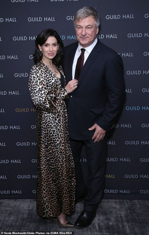 Second wife: Alec and Hilaria married in 2012, portraying this past in March in New York City.  The actor was previously married to Hollywood star Kim Bassinger from 1993 to 2002.