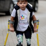 Kate Middleton pens letter to boy, five, with prosthetic legs who raised £1m