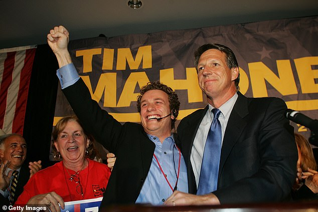 Democratic businessman Tim Mahoney (right) won the congressional seat in 2006 before being forced to admit to 'multiple affairs'