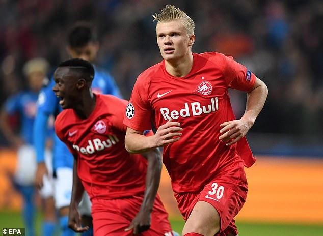 That title came despite Salzburg losing striker Erling Haaland to Borussia Dortmund