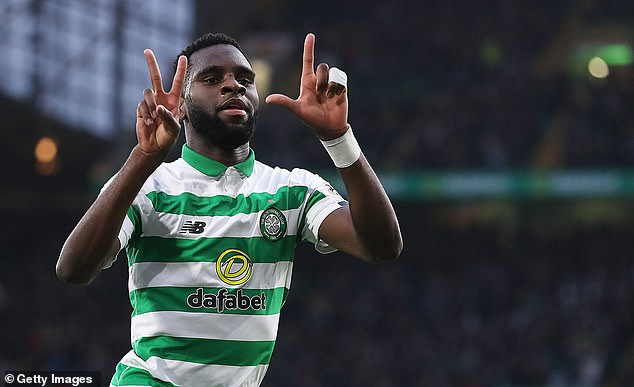 Celtic want at least £40m for Odsonne Edouard as the club owe PSG a 40 per  cent sell-on fee | Daily Mail Online