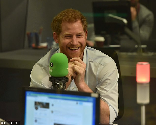 Harry also has experience in television and radio.  In 2017, a guest's father edited BBC Radio 4's Today show (pictured)