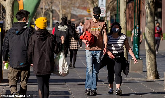 Melburnians were out and about enjoying the weather on Saturday, despite stage 4 lockdown