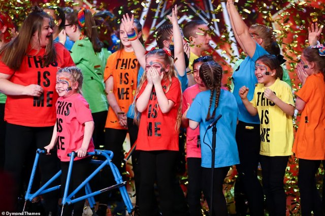 Sign Along With Us: This choir from Manchester were Golden Buzzed by David