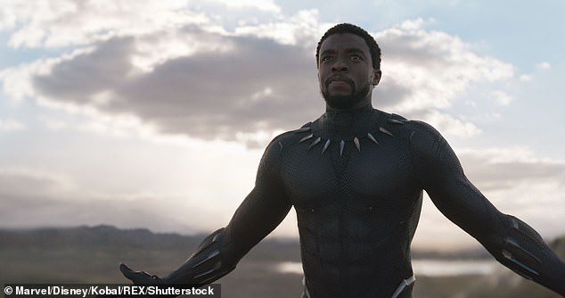 'It is with a heavy heart and a sense of deep gratitude to have ever been in his presence, that I have to reckon with the fact that Chad is an ancestor now. And I know that he will watch over us, until we meet again,' Coogler concluded; still from Black Panther
