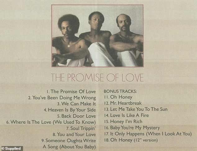 Delegation's debut album The Promise Of Love featured songs Back Door Love, Where Is The Love (We Used To Know), You and Your Love and The Promise Of Love