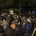 Police clash with BLM protesters outside the White House for the second night