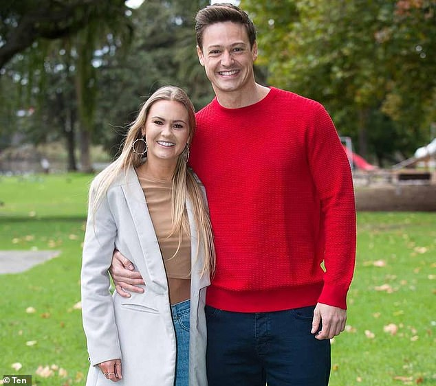 Remember this? Helena rose to fame after she appeared on Matt Agnew's season of The Bachelor in 2019