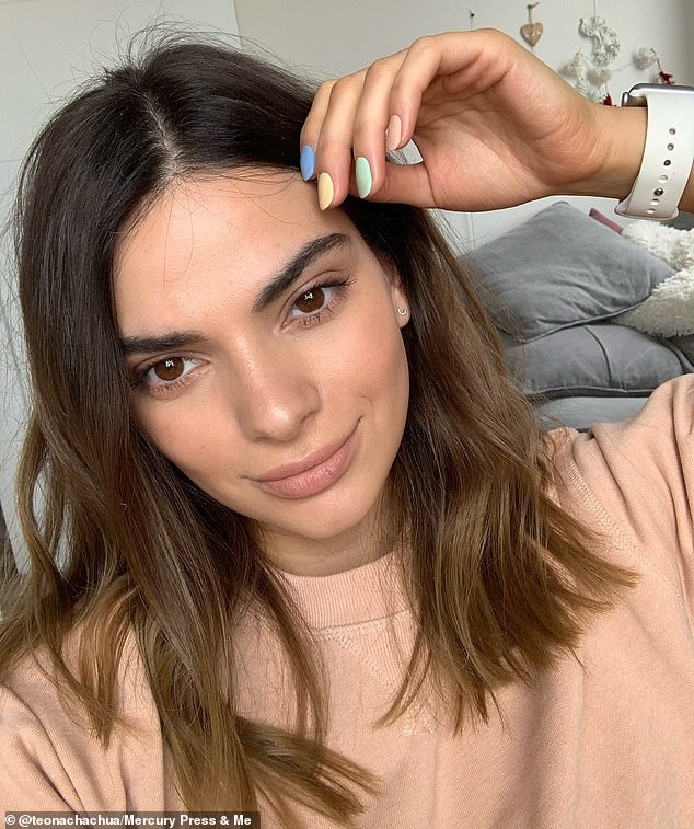 Teona Chachua (pictured), 29, from Tbilisi, Georgia, has stunned onlookers and sometimes even her own family with her uncanny resemblance to supermodel Kendall Jenner