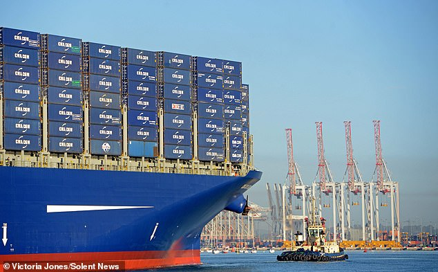 The broadcasts forced Southampton port authorities to communicate with vessels via mobile phones