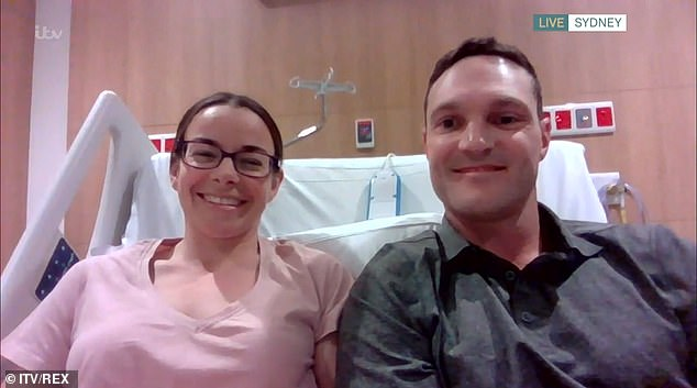 Appearing on This Morning today with her husband Mark Rapley from herhospital bed in Sydney she explained how she does not blame the animal for her injuries