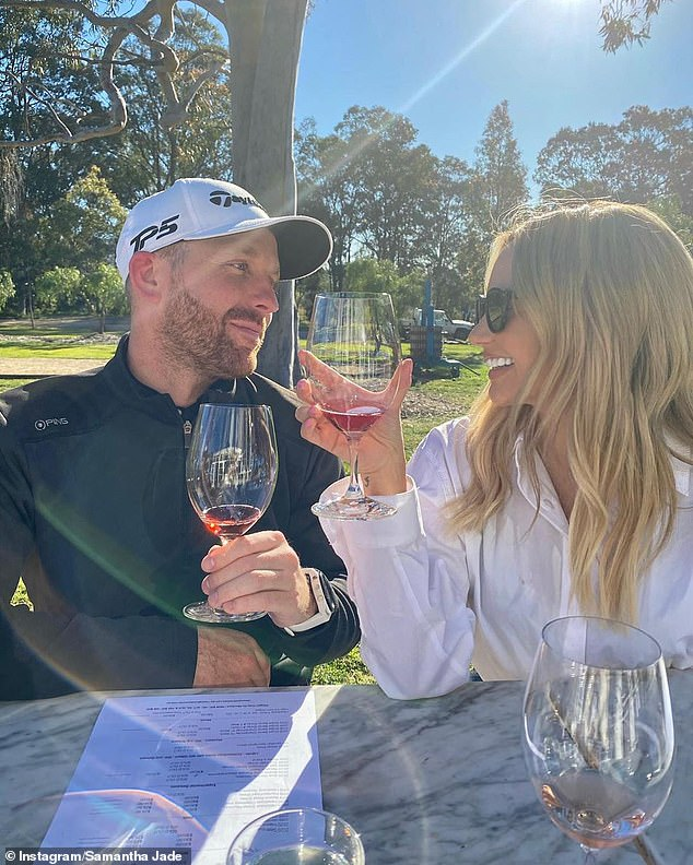 Speaking to the Sydney Morning Herald this week, Samantha said: 'My wedding was supposed to be next month, we found a venue we loved and started planning, then COVID hit'