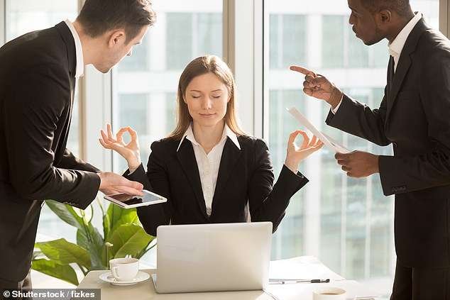 Any advantages to being intimidating were offset by the disadvantages of having poor personal relationships with others, the study authors said. Stock image