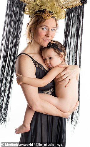 Empowerment: 'If I feel like I need to breastfeed my kid, I don't hold back out of shame, self-consciousness, or fear of what someone else might think or say,' Michelle said