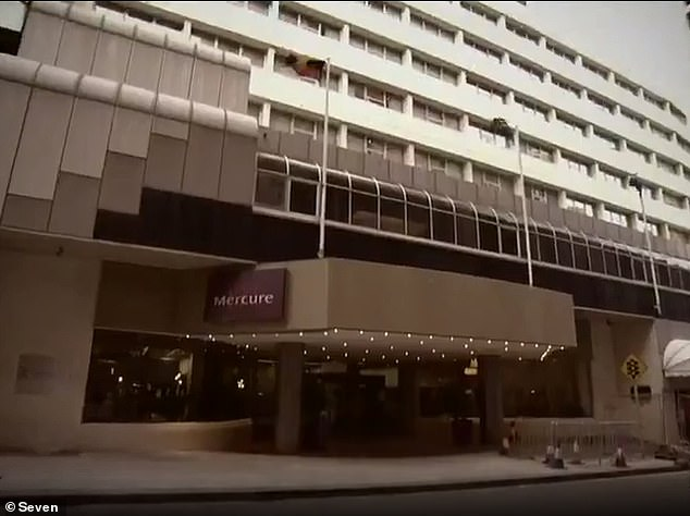 Perth man Yusuf Karakaya, 31, has been jailed after repeatedly using a ladder to escape hotel quarantine (hotel pictured) to be with his girlfriend