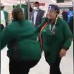 Shocking moment Morrison's employee calls shopper a 'black c***'