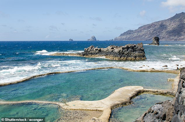 El Hierro Island (file image) had previously recorded only a handful of cases and no deaths