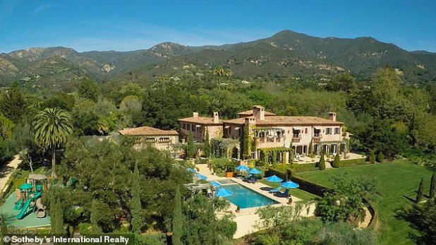 However, Prince Harry and his wife have opted to stay in the Los Angeles mansion