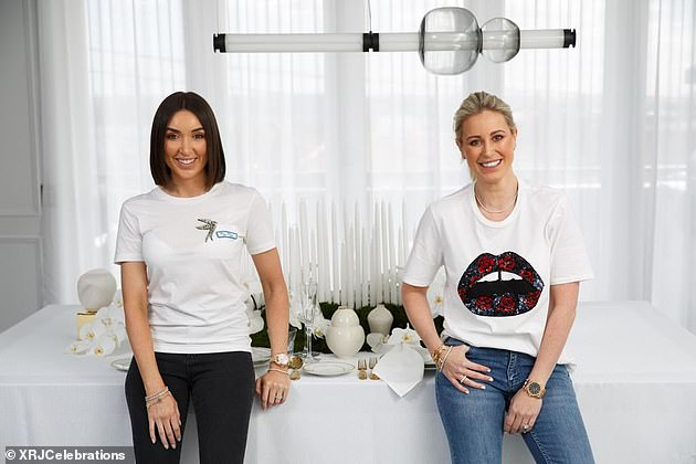 New business: Roxy recently launched a new business with her long-time friend, Ingham's Chicken heiress Jessica Ingham, XRJcelebrations