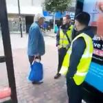 Muslim mother films a racist man reducing her x-year-old girl to tears with hate-filled rant