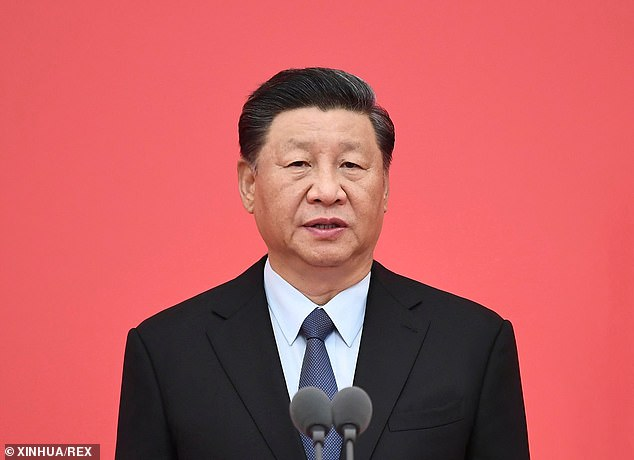 China's customs service confirmed the ruling on Tuesday, saying quarantine pests have been repeatedly found in CBH barley exports.  Pictured: Chinese President Xi Jinping