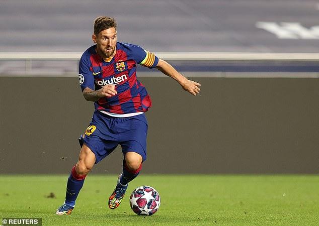 Messi a dit à Barcelone qu'il voulait partir avec les favoris de Manchester City pour le signer