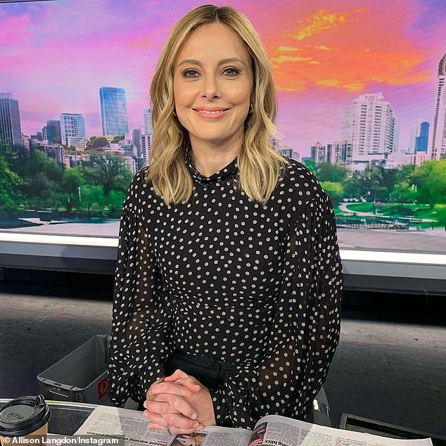 Youthful:While the presenter has swapped out her shorter darker blonde tresses with lusciously lighter locks, she has always sported a youthful glow