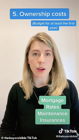 Unlike renting, owning a home involves paying ownership costs
