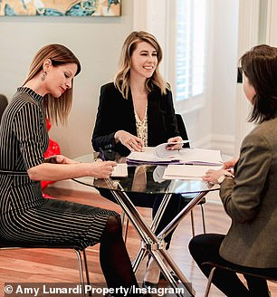 The Melbourne property agent told FEMAIL it's important for buyers to consider whether they are both 'financially and emotionally stable' to purchase a house