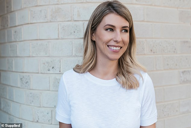 Australian buyer's agent Amy Lunardi (pictured) has revealed how much money first home buyers should have saved when considering purchasing a property and the little-known costs involved