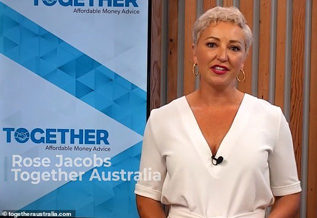 New look: Rose told news.com.au that she decided to trim her locks after she contracted dengue fever while living in Vanuatu with her family