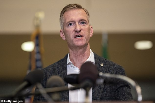 Portland's Democrat mayor 'is moving house' after it was repeatedly targeted by protesters