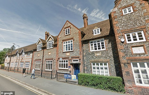Sir William Borlase High School in Marlow, Buckinghamshire, was scheduled to welcome pupils again on Wednesday, but will return on September 10