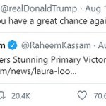 Lara Trump campaigns with Parkland 'truther' Laura Loomer