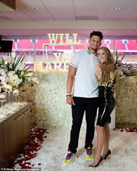 Two Rings in One Day: Patrick Mahomes Proposes to Highschool Sweetheart Brittany Matthews