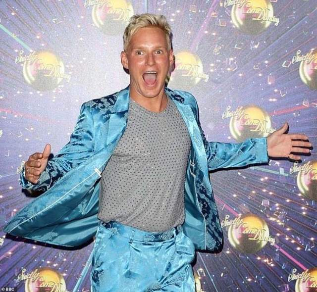 Back again:Made In Chelsea's Jamie Laing was signed on for Strictly 2019, even being partnered up and appearing in the opening episode of the series