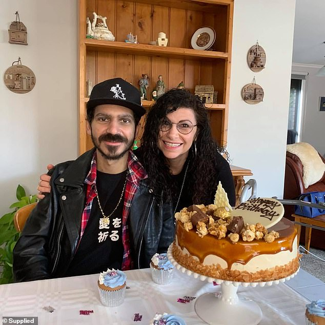 Ben Stylo (pictured with his mother Rose Cassar) died alone and surrounded by machines in the intensive care unit at The Alfred Hospital